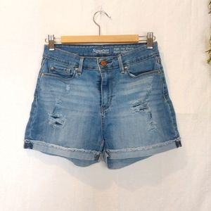 SIGNATURE by LEVI'S ♡ Ladies High-rise Shorts